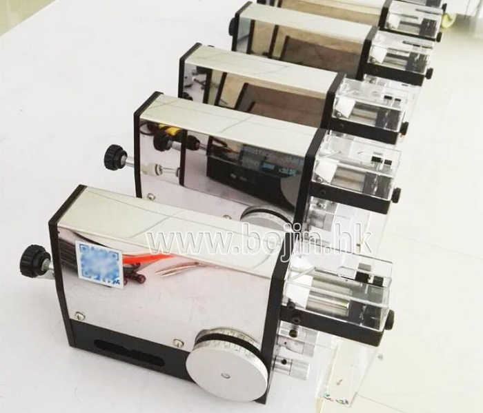 Magnetic Pneumatic Wire Stripping Machine BJ-0320 2