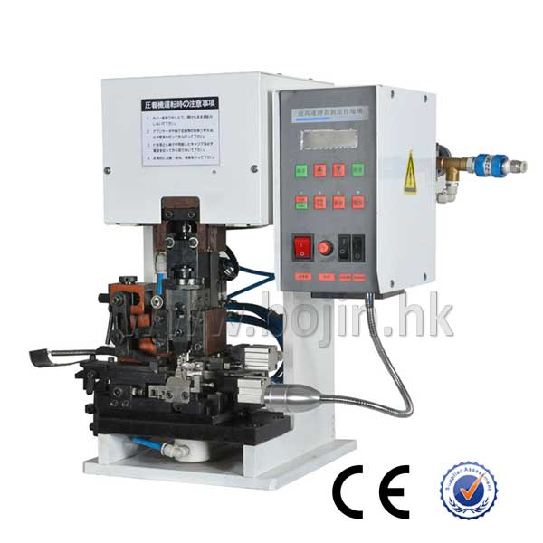 BJ-1.5TM Semi-automatic Mute Wire Stripping And Crimping Machine
