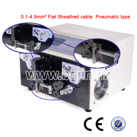 BJ-BHT2 Pneumatic Flat Sheathed Cable Stripper Machine