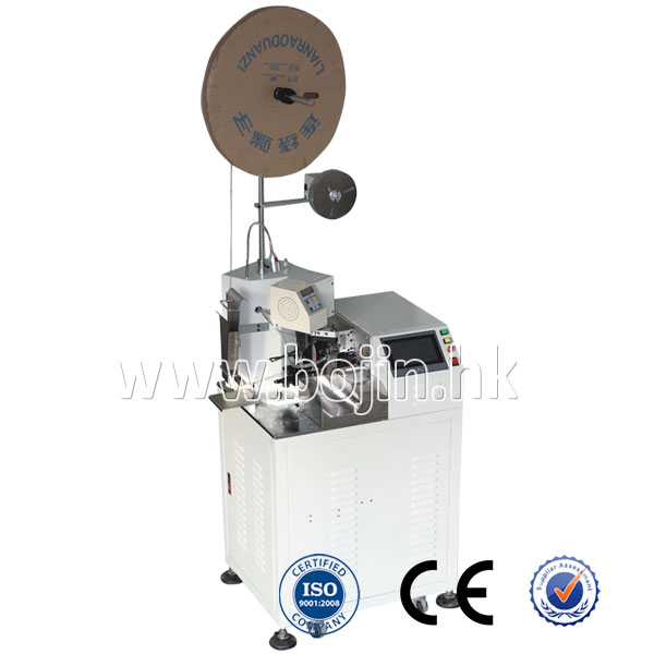 BJ-2000F Single-head Wire Stripping & Terminal Crimping Machine
