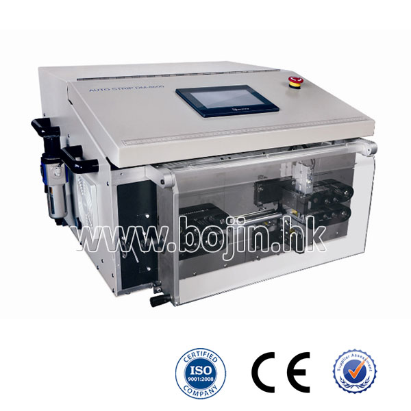 BJ-HT4 Double line Multi-core Round Cable Cutting and Stripping Machine