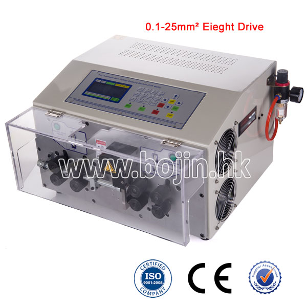 BJ-07MAX Wire Cutting And Stripping Machine With Eight Drives
