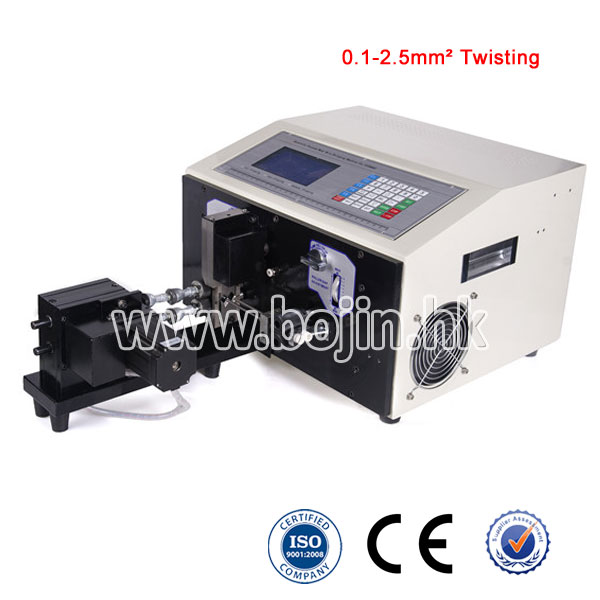BJ-02T Wire Stripping & Twisting Machine